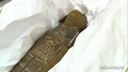Francia, la mummia misteriosa alta 90 cm presto potrà essere ammirata dal pubblico