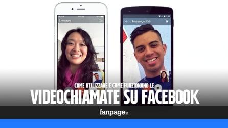 Come effettuare le videochiamate su Facebook Messenger