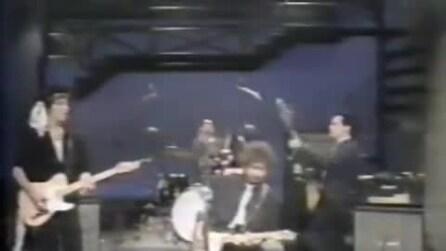 Bob Dylan canta Jokerman al Letterman Show