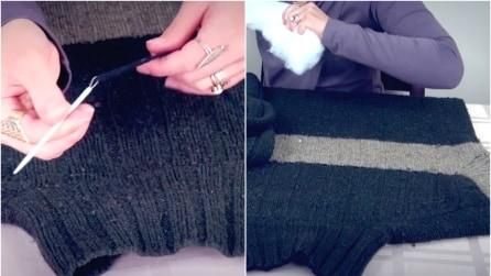 Trasforma un vecchio maglione in qualcosa di veramente originale