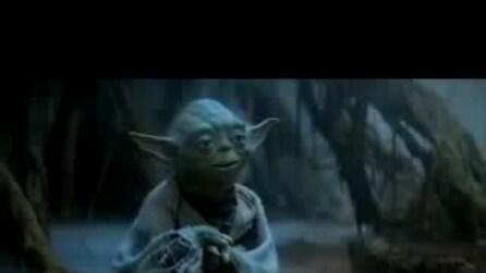 """""""L'impero colpisce ancora"""", la scena con Yoda"""