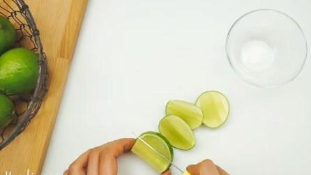 Taglia il lime in 5 spicchi, l'idea a cui non avevate mai pensato prima