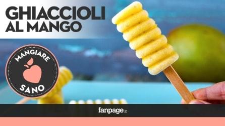 Come preparare i mini Ghiaccioli al mango, freschi e gustosi