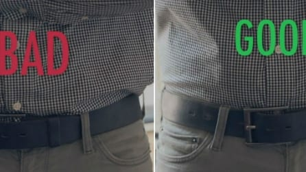 Ecco un metodo infallibile per tenere la camicia sempre in ordine