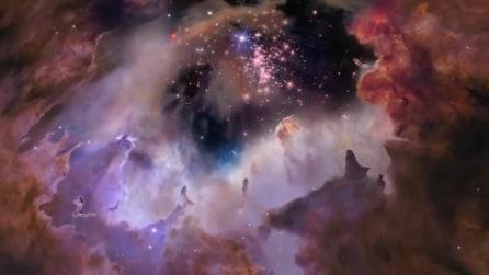 Vi siete mai chiesti come sarebbe volare nello spazio? Le immagini da brividi