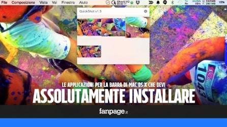 Le migliori app per la barra del menu di Mac OS X