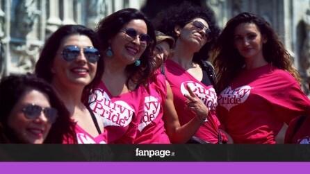 """Curvy Pride a Milano: """"La bellezza non ha taglie, viva le ragazze morbide"""""""