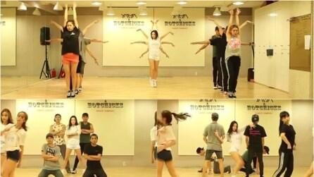 Appena inizieranno a ballare non riuscirete a smettere di guardare: una coreografia ipnotica