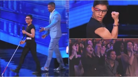 Ha 14 anni, è cieco ma balla grazie ai Google Glass. Un'emozione senza fine