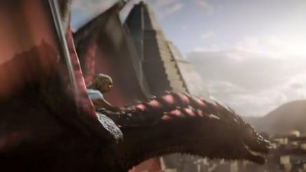 Game of Thrones 5x09 - Daenerys vola con Drogòn