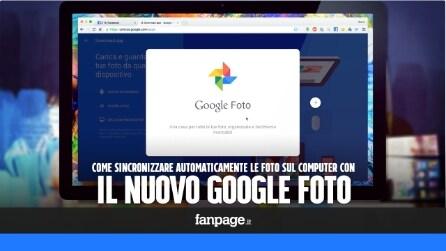 Come sincronizzare automaticamente Mac e PC con Google Foto