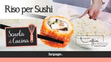 Riso per Sushi, come realizzarlo a casa in modo perfetto