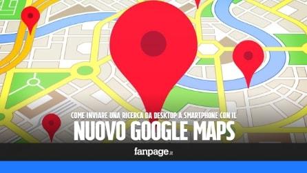 Google Maps, come inviare una ricerca effettuata da desktop su iPhone