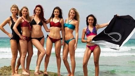 Un bikini intelligente per abbronzarsi senza scottature