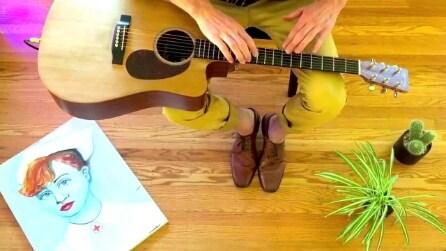 Ecco un nuovo modo di suonare la chitarra