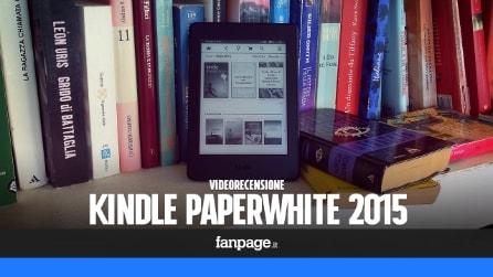 Amazon Kindle Paperwhite 2015 - videorecensione