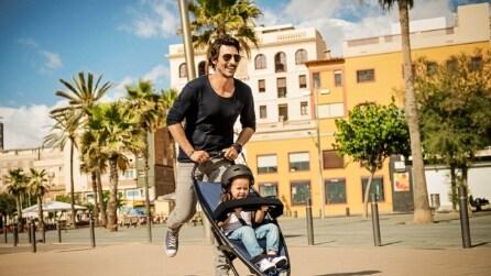 Ecco il passeggino a forma di skateboard: il modo innovativo di portare a spasso il tuo piccolo