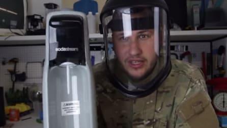 Il modo in cui sta per usare il gasatore dell'acqua vi lascerà a bocca aperta