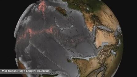 Come sarebbe la Terra senza oceani? Le immagini che non avete mia visto prima