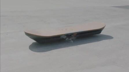 Slide, l'hoverboard (funzionante) di Lexus