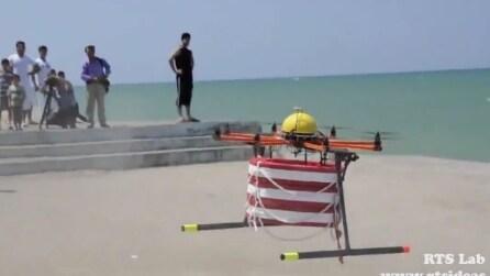 Ecco come un drone può salvare la vita in mare