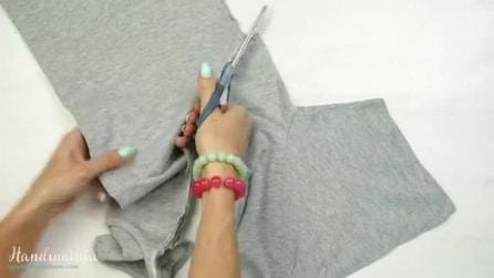 Taglia le maniche della t-shirt e crea qualcosa di completamente nuovo