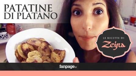 Patatine di Platano, lo spuntino peruviano croccante e originale