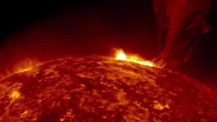 La NASA cattura in HD una spettacolare eruzione solare