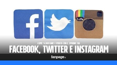 Come scaricare i video da Facebook, Twitter e Instagram con l'iPhone