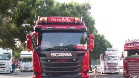 8° truck raduno XX SECOLO del 2015 3° video