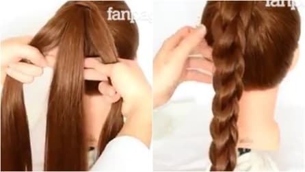 Divide i capelli in tre ciocche: ecco come fare una treccia 3D, unica nel suo genere
