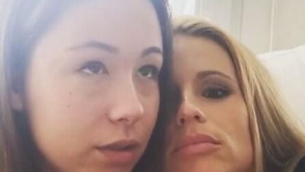 """Michelle Hunziker con la figlia Aurora: """"Tuo padre era un asiatico"""""""