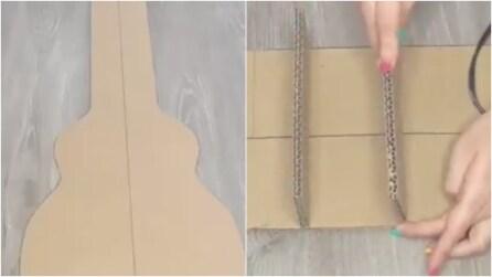 Ricava una sagoma dal cartone: un'idea creativa per arredare la camera da letto