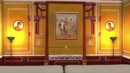 Tour in 3D in una villa di Pompei com'era prima dell'eruzione, il progetto di un'università svedese