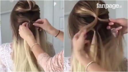 Lega i capelli in questo modo: la treccia insolita che vi conquisterà