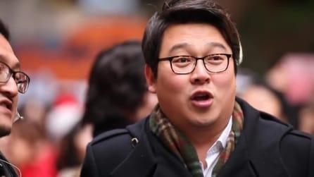 """Corea del Sud, lo splendido omaggio a Napoli con il Flashmob di """"Funiculì Funiculà"""""""