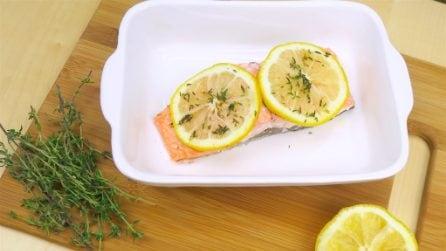 Salmone al cartoccio: la ricetta perfetta per una cena veloce