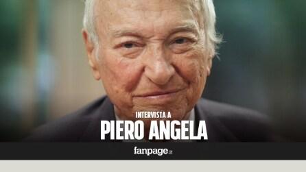 """Piero Angela: """"I giovani hanno il diritto a sviluppare il loro talento in Italia"""""""