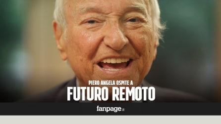 """Piero Angela a Città della Scienza: """"Napoli è una città in pieno fermento"""""""