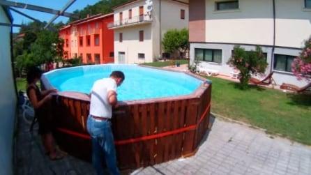 Come costruire una piscina in maniera economica