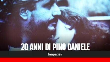"""Pino Daniele, a Napoli la mostra """"20 anni di Pino"""". La figlia Sara: """"Una grande emozione"""""""