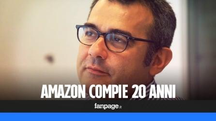 """Amazon compie 20 anni: """"In Italia l'e-commerce cresce a ritmi sostenuti"""""""