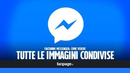 Facebook Messenger: come vedere le foto condivise