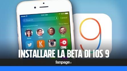 Come installare iOS 9 Public Beta