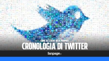 Come accedere alla cronologia del proprio profilo Twitter