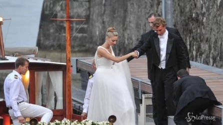Nozze Borromeo-Casiraghi: la sposa sceglie un abito di Armani