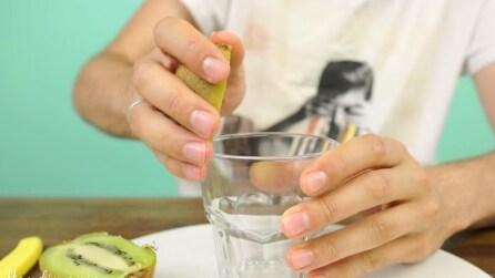 Passione per i kiwi? Prendete un bicchiere e fatelo anche voi
