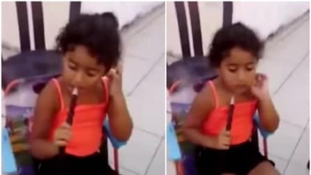 Ha solo 9 anni e fuma il narghilè: a riprendere è proprio la mamma