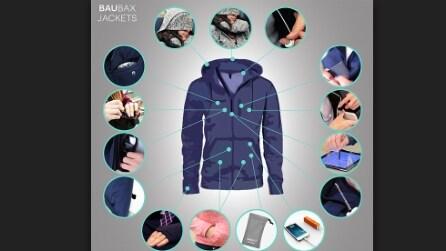 Una tasca per ogni esigenza: la giacca del futuro ha raccolto già 2 milioni di dollari