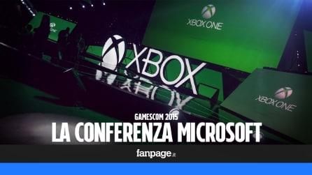 Gamescom 2015, le novità di Xbox annunciate alla conferenza Microsoft